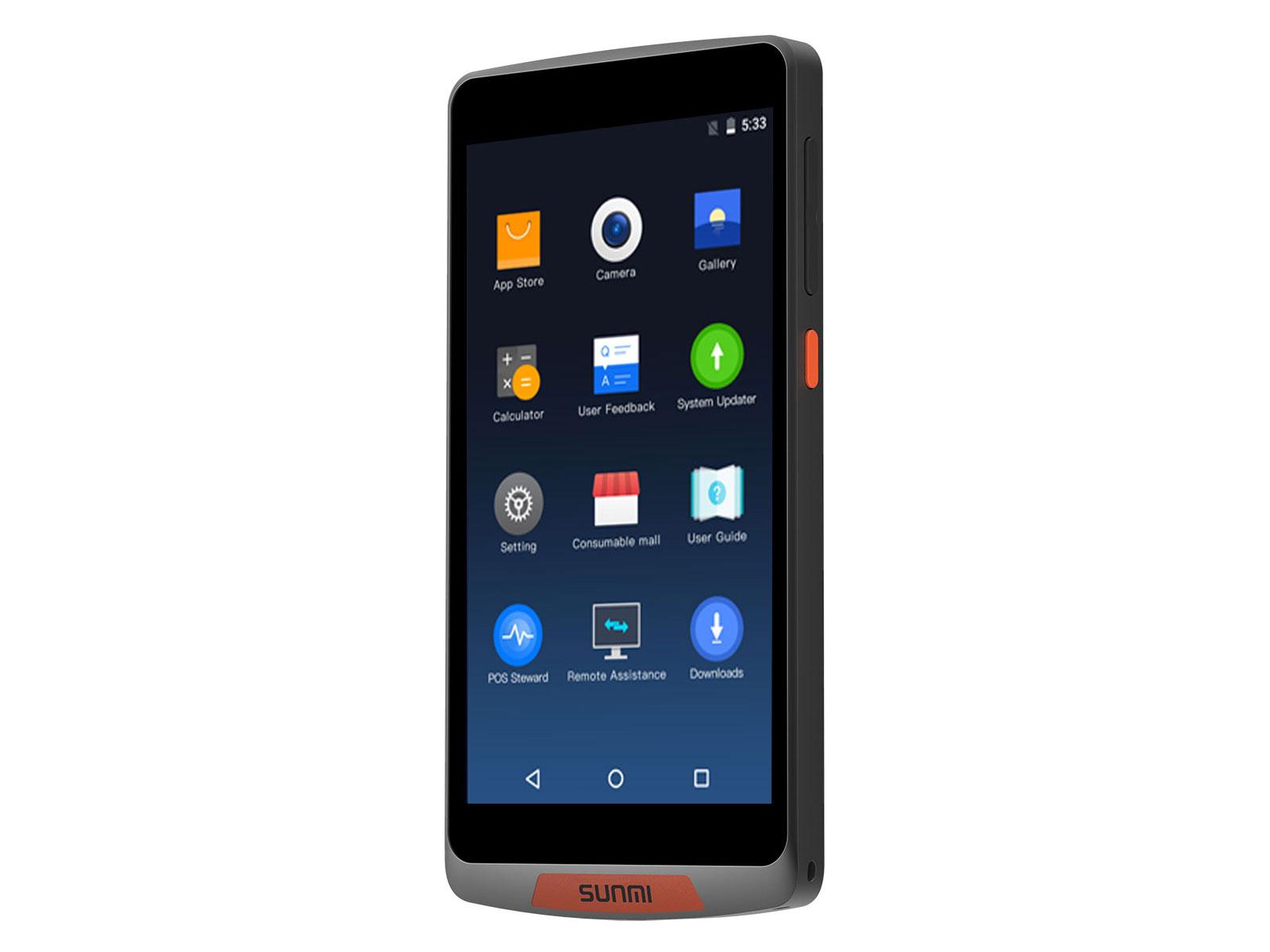 M2 オーダーと支払いを1台で Androidスマートターミナル  SUNMI サンミ
