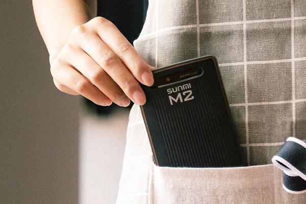 M2 ポケットにも入るコンパクトサイズ Androidスマートターミナル  SUNMI サンミ