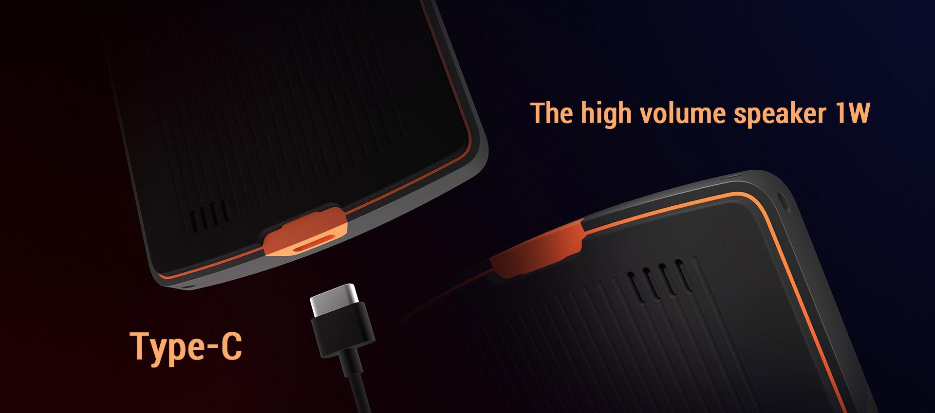 M2 1Wの大音量スピーカーと使いやすいUSBインターフェイス SUNMI サンミ