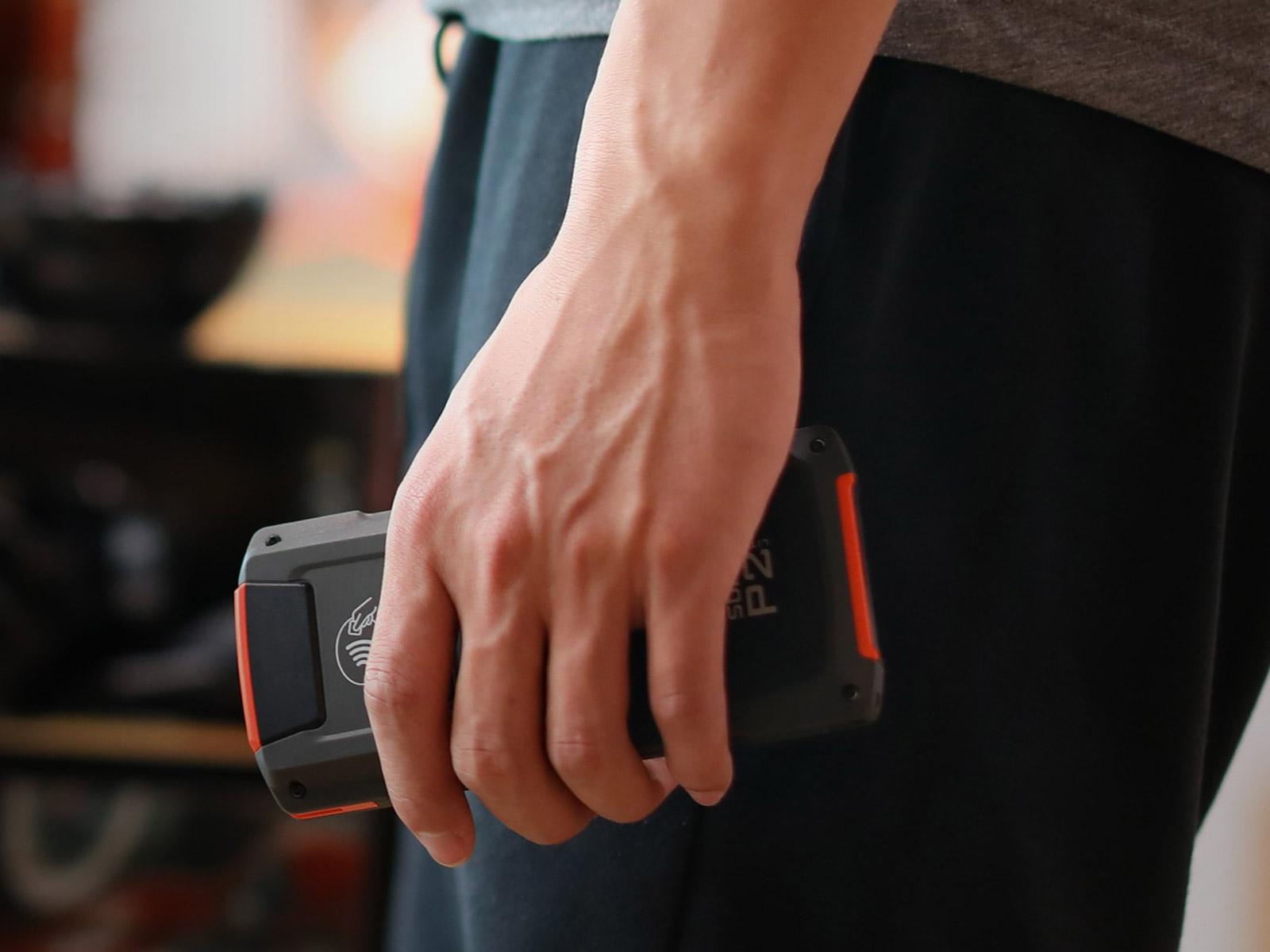 P2 LITE 磁気カード、ICカード、NFC、QR決済コード対応 Androidターミナル SUNMI サンミ