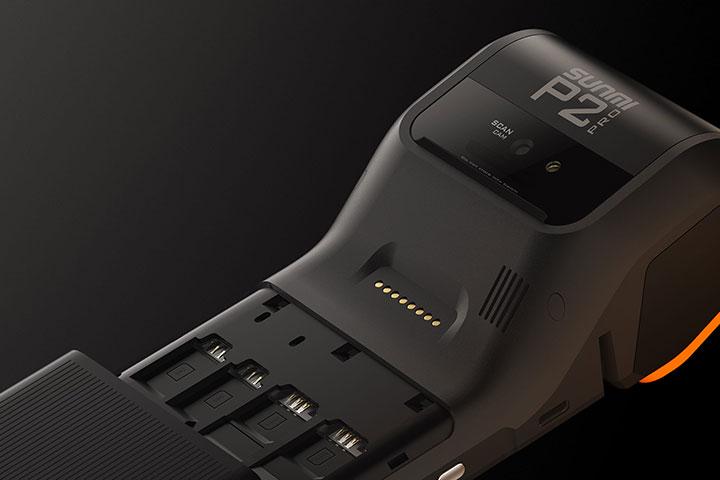 P2 PRO デュアルSIM デュアルPSAM対応 Androidターミナル SUNMI サンミ