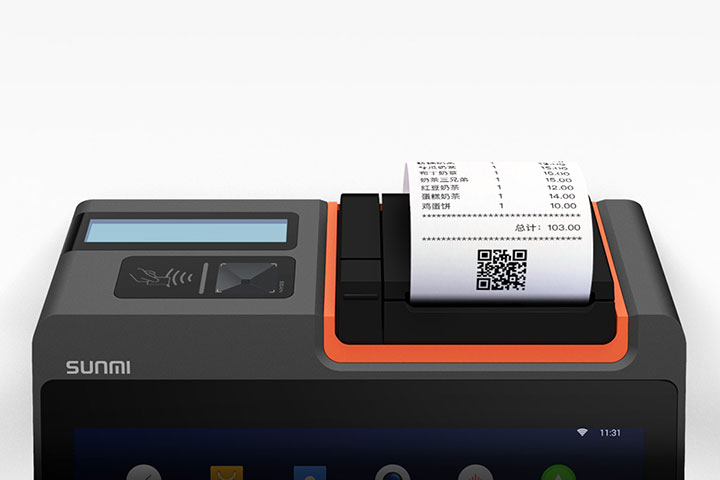 T2 MINI プリンタ搭載デスクトップキャッシュレジスター SUNMI サンミ